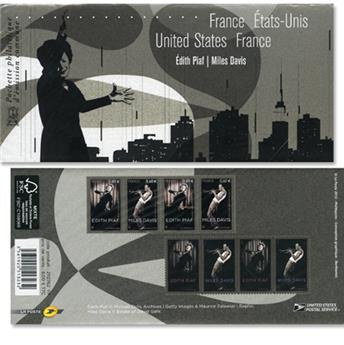 2012 - Joint issue-France-USA-(mounts)