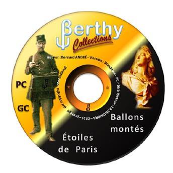 Logiciel Petits/Gros Chiffres, Ballons montés - Etoiles de Paris