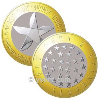 3 EUROS SLOVENIE 2008