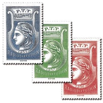 nr. 1/3 -  Stamp France Radio Revenue stamp