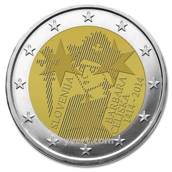 €2 COMMEMORATIVE COIN 2014 : SLOVENIA