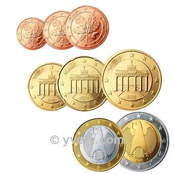 KIT EURO ALLEMAGNE