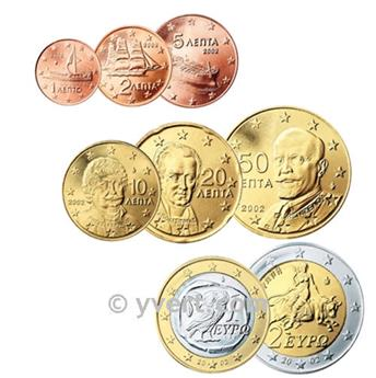 KIT EURO GRÉCIA