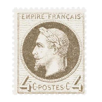 n° 27B obl. - Napoléon III (Empire lauré)