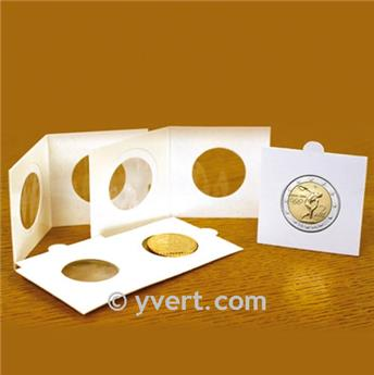 COIN HOLDERS: 25 mm - TO FASTEN