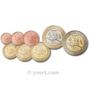 KIT EURO LITUANIE 2015
