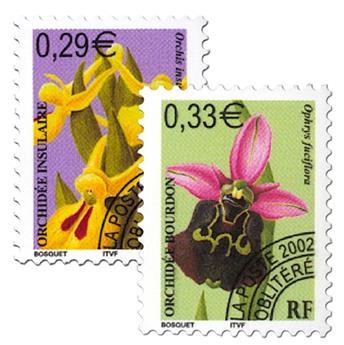 n° 244/245 -  Selo França Pré-obliterados