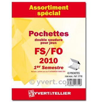 Assortiment de pochettes (double soudure) : 2009-1er semestre