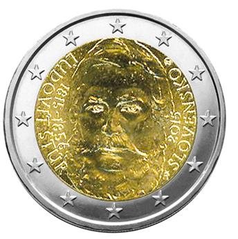 2 EUROS COMEMORATIVAS 2015 : ESLOVÁQUIA