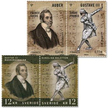 2012 - Joint issue-France-Sweden