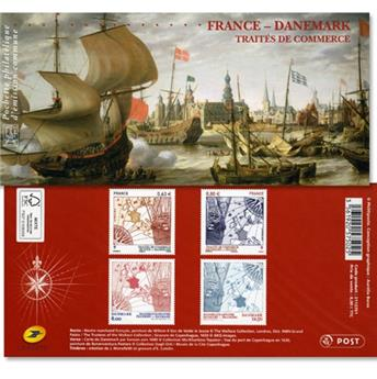 2013 - Joint issue-France-Denmark-(mounts)