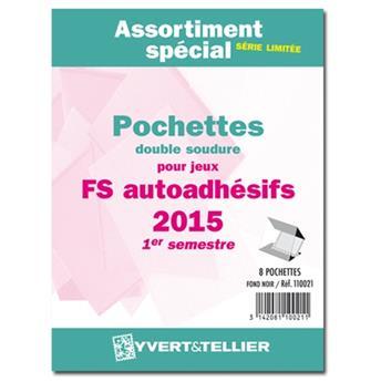 Assortiment de pochettes (double soudure) : 2015-1e sem. (Jeux Autoadhésifs)