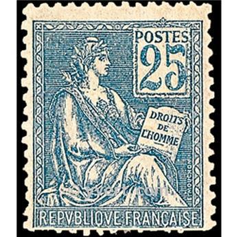 n.o 114 -  Sello Francia Correos
