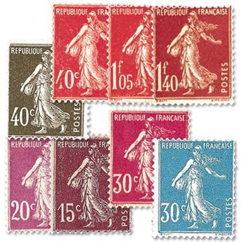 n° 189/196 -  Selo França Correios