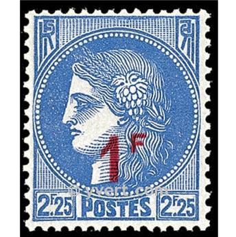 n.o 487 -  Sello Francia Correos