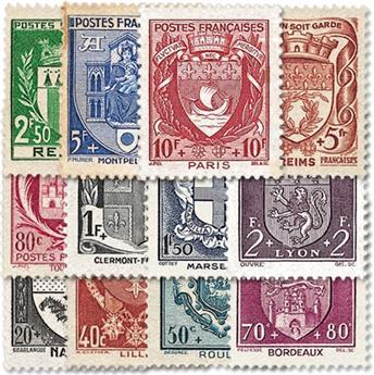nr. 526/537 -  Stamp France Mail