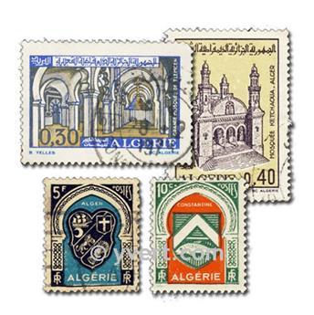 ALGERIE : pochette de 300 timbres