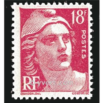 n.o 887 -  Sello Francia Correos