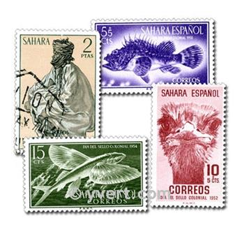SPANISH SAHARA: Envelope 50 stamps