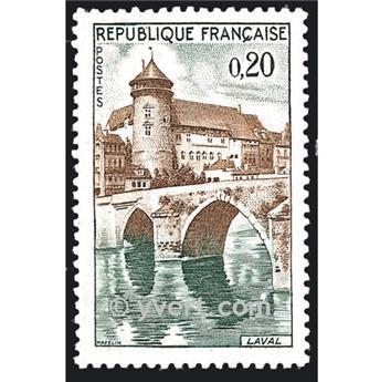 n.o 1330 -  Sello Francia Correos