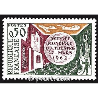 n° 1334 -  Selo França Correios