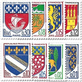 n° 1351A/1354B -  Selo França Correios