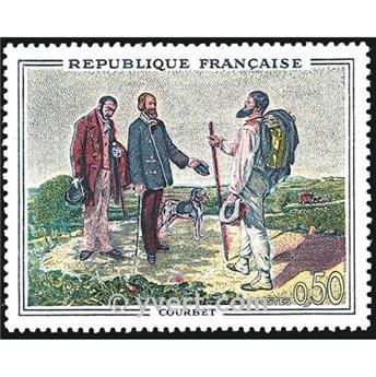 n° 1363 -  Selo França Correios