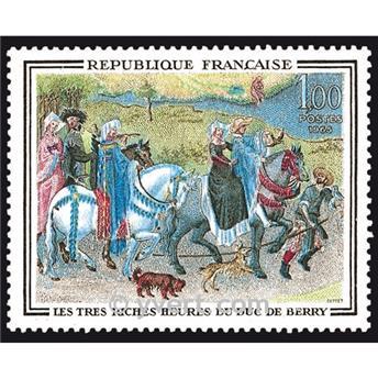 n° 1457 -  Selo França Correios
