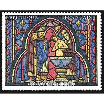 n° 1492 -  Selo França Correios