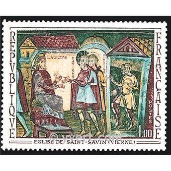 n.o 1588 -  Sello Francia Correos