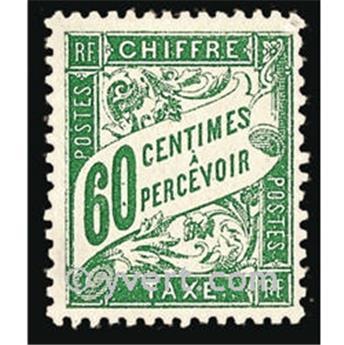 n° 38 -  Selo França Taxa