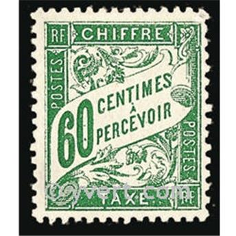 nr. 38 -  Stamp France Revenue stamp