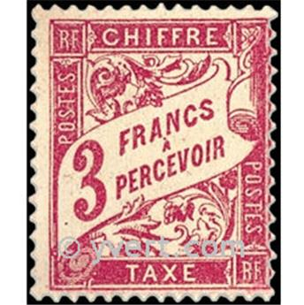 n° 42 -  Timbre France Taxe