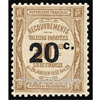 n° 49 -  Selo França Taxa