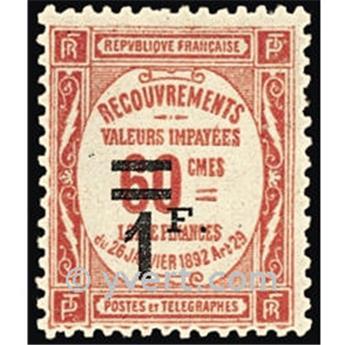 n° 53 -  Selo França Taxa