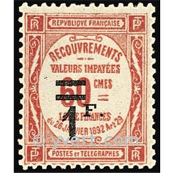 nr. 53 -  Stamp France Revenue stamp