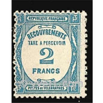 nr. 61 -  Stamp France Revenue stamp