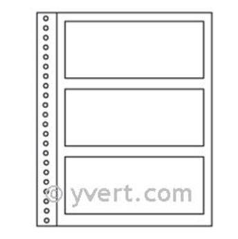 Recargas ´Simples Régent-Supra´: 3 compartimentos