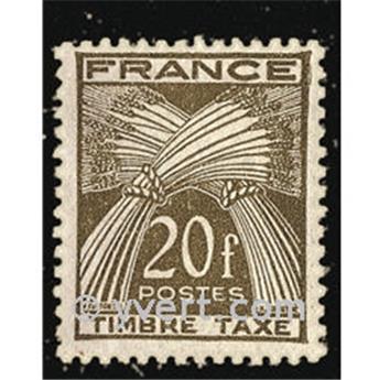 n.o 87 -  Sello Francia Tasa