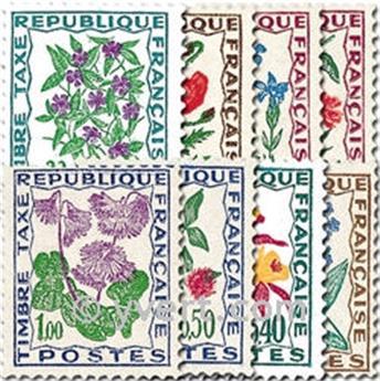 n.o 95 / 102 -  Sello Francia Tasa