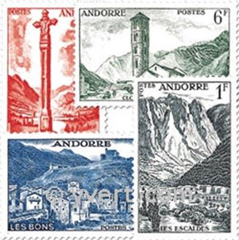 n° 138/153 -  Timbre Andorre Poste