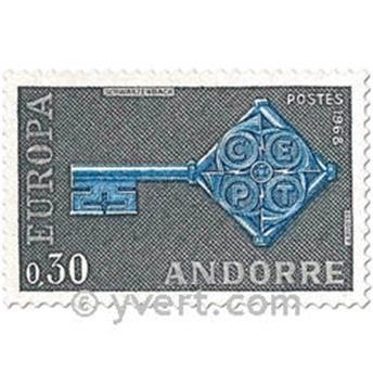 n° 188/189 -  Selo Andorra Correios