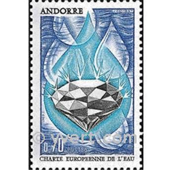 n.o 197 -  Sello Andorra Correos
