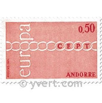 n° 212/213 -  Selo Andorra Correios