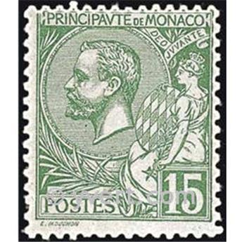 n° 44 -  Timbre Monaco Poste