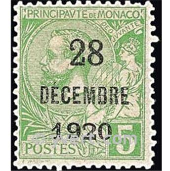 n° 48 -  Timbre Monaco Poste