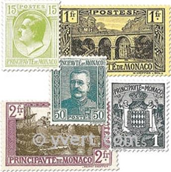 n° 73/103 -  Selo Mónaco Correios