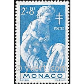 n° 293 -  Timbre Monaco Poste