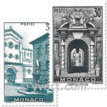 n° 369/370 -  Timbre Monaco Poste