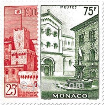 n° 397/398 -  Selo Mónaco Correios